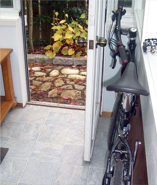 Folding your Bike Flat