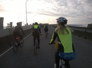 5.Morning ride