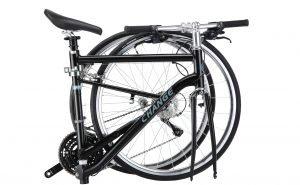 DF-702 Black Bike Folded