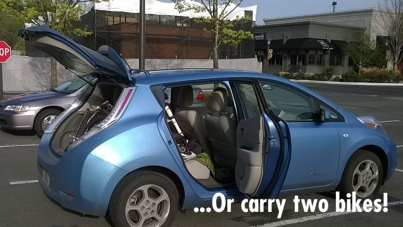 Carry Two Bikes in Car