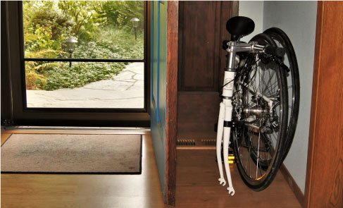 Bike in the Hallway