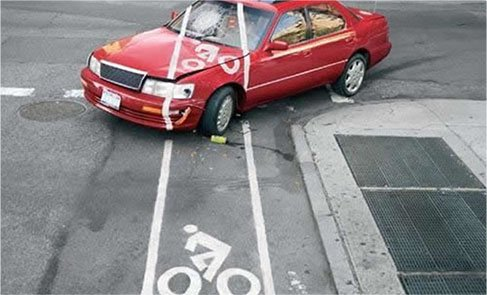 Bike Lanes with Cars