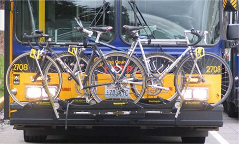Bike Rack on Public Buses