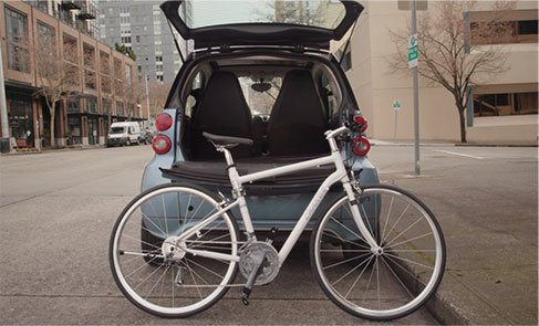 Open Change Bike with Car