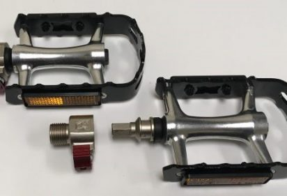 Installing and using pop-off pedals