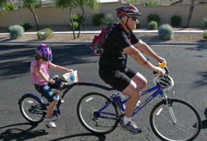 Kids & bikes: What's a trailer bike?