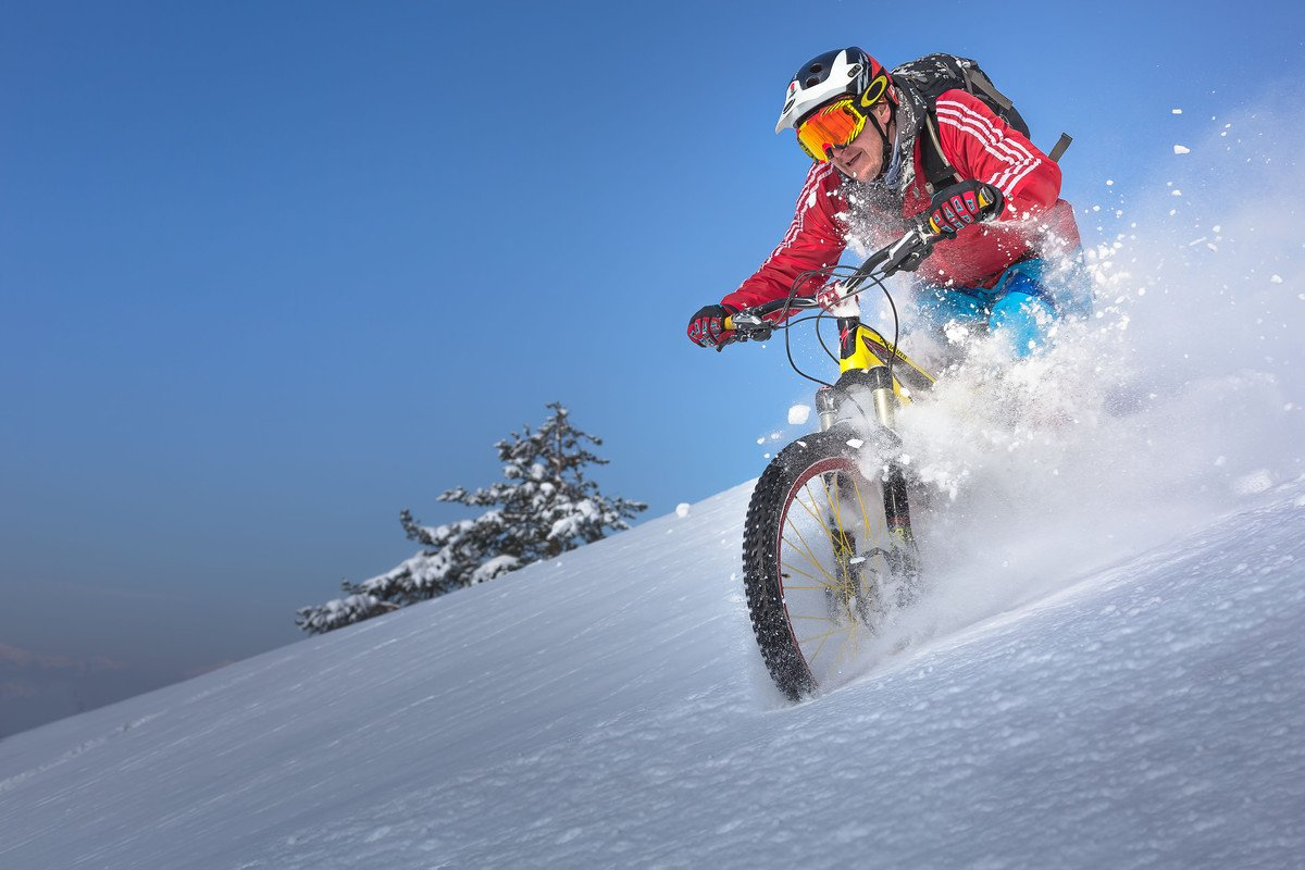 The ultimate snow ride