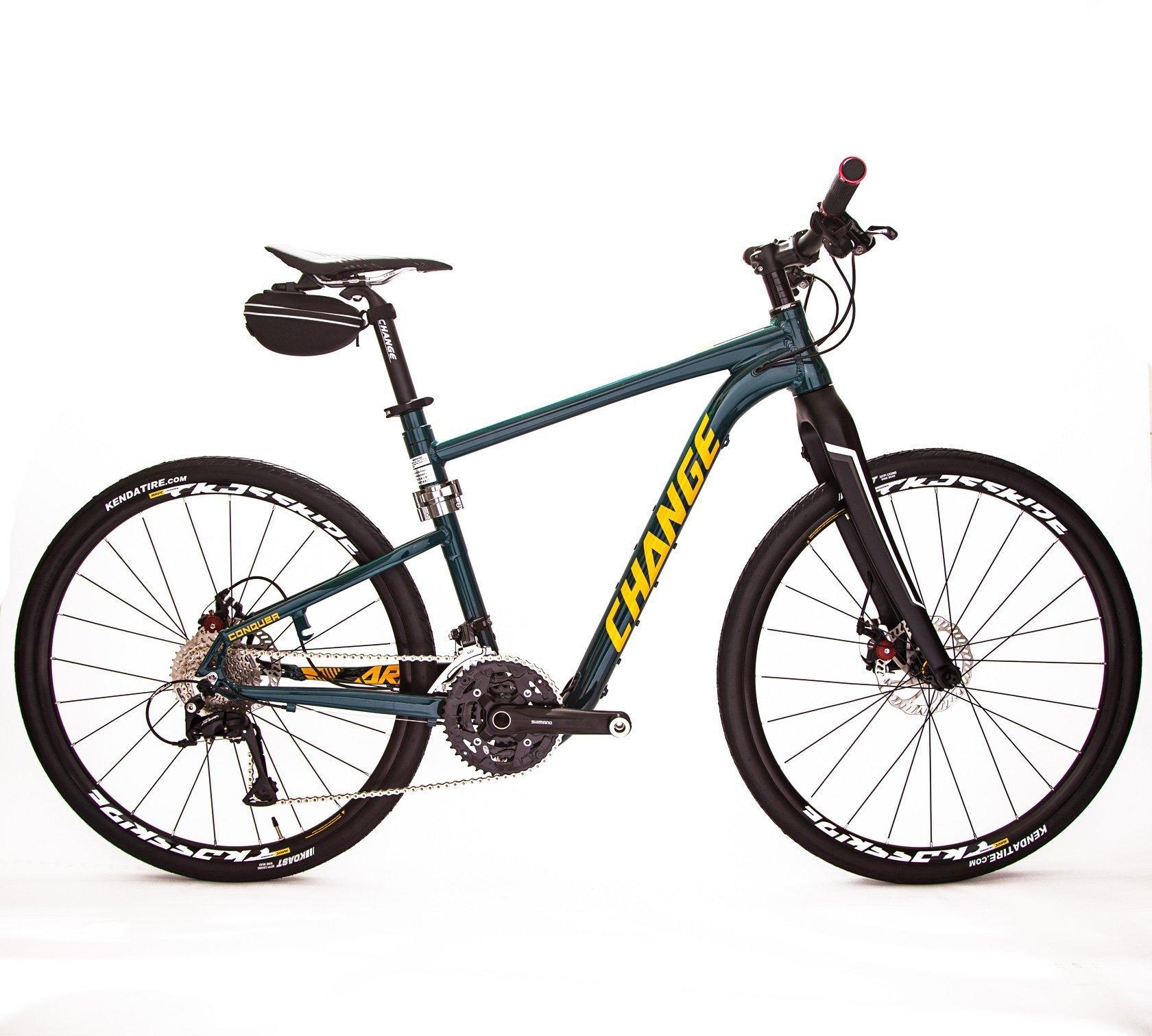 Rugged foldable hybrid bike