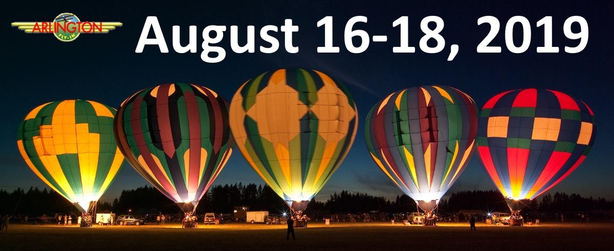 Twilight balloon show