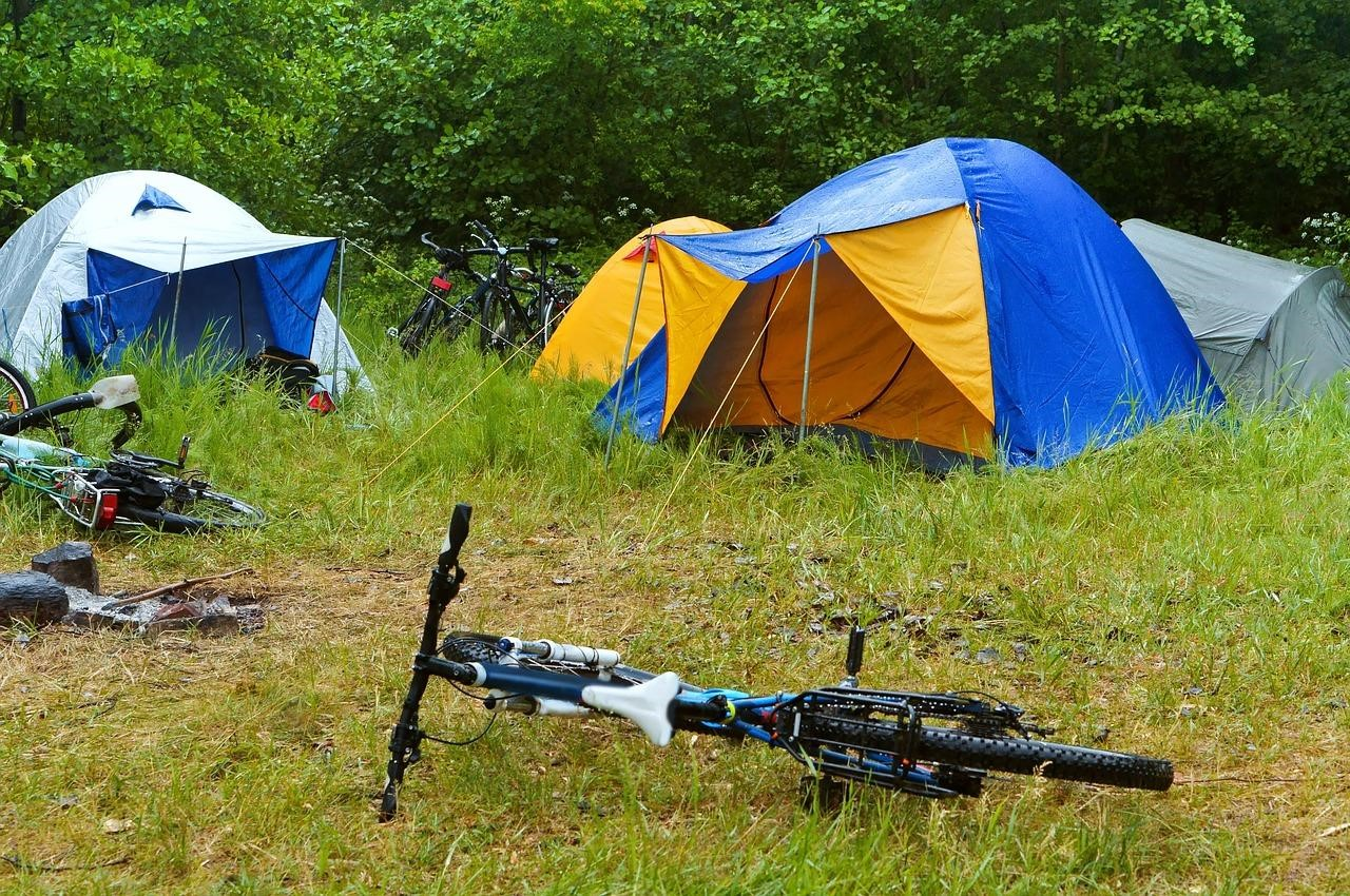9 essential items for bike camping
