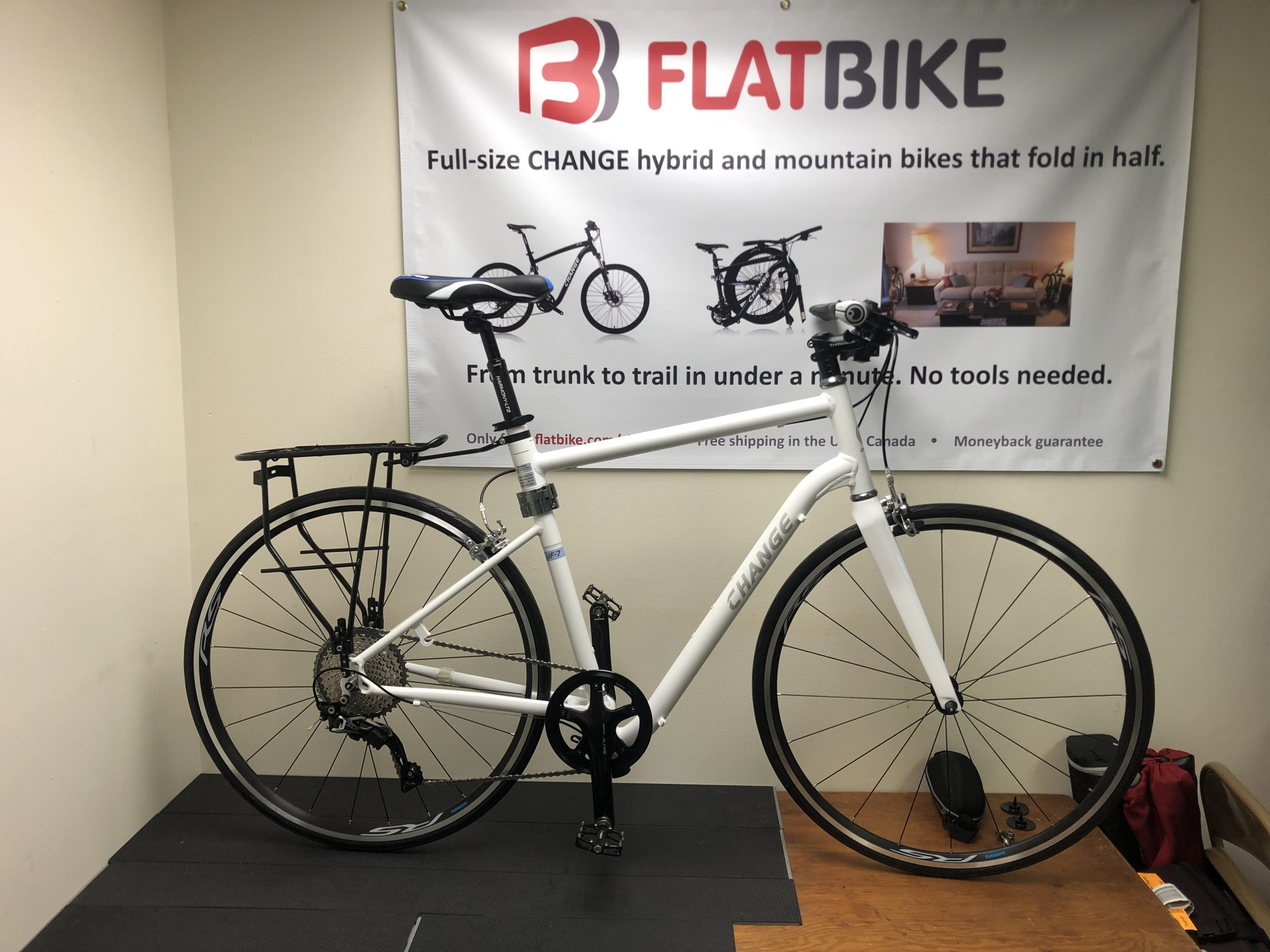 Flatbike Road Scholar ultimate campus bike profile