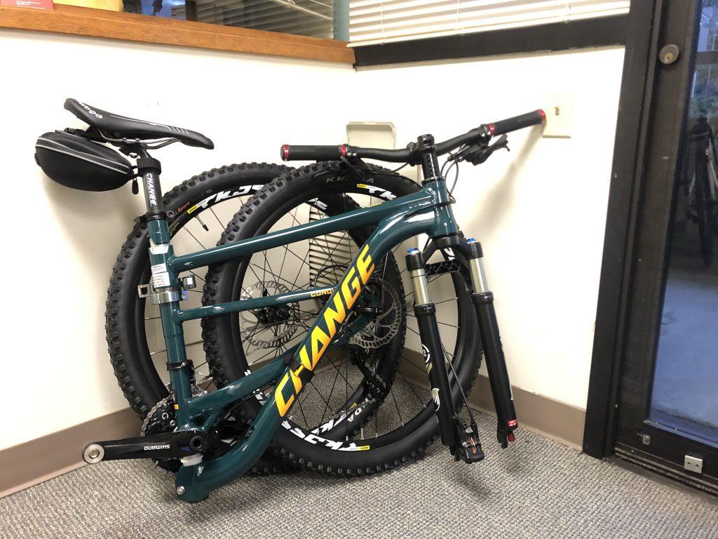 CHANGE 812 folding bike (MTB)