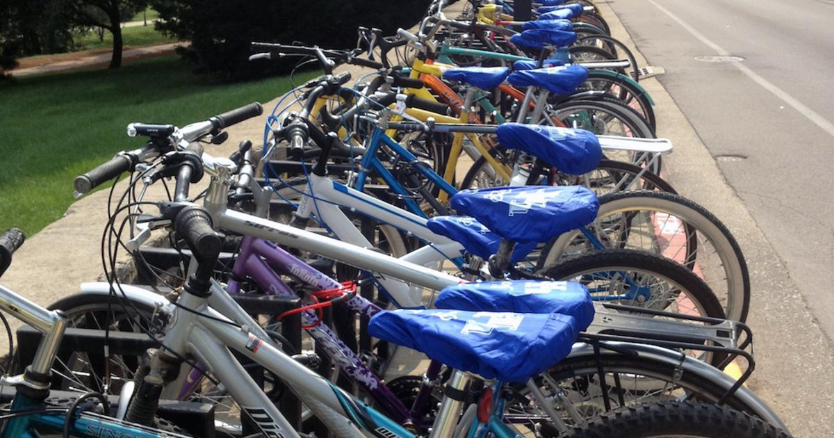 full campus bike rack