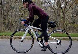 Riding a Flatbike Century