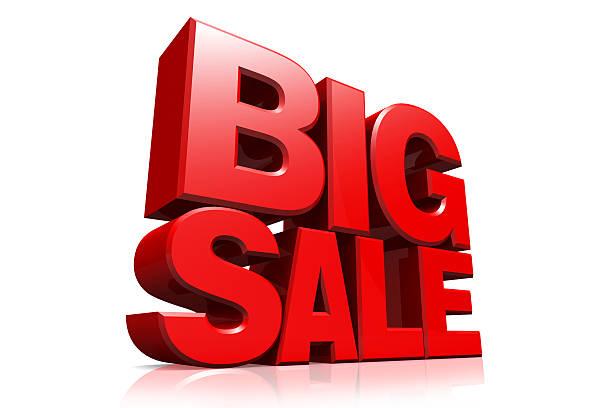 big sale, big
