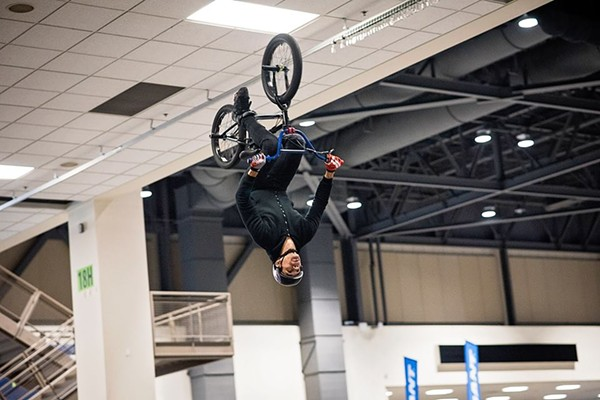BMX at the Seattle Bike Show.