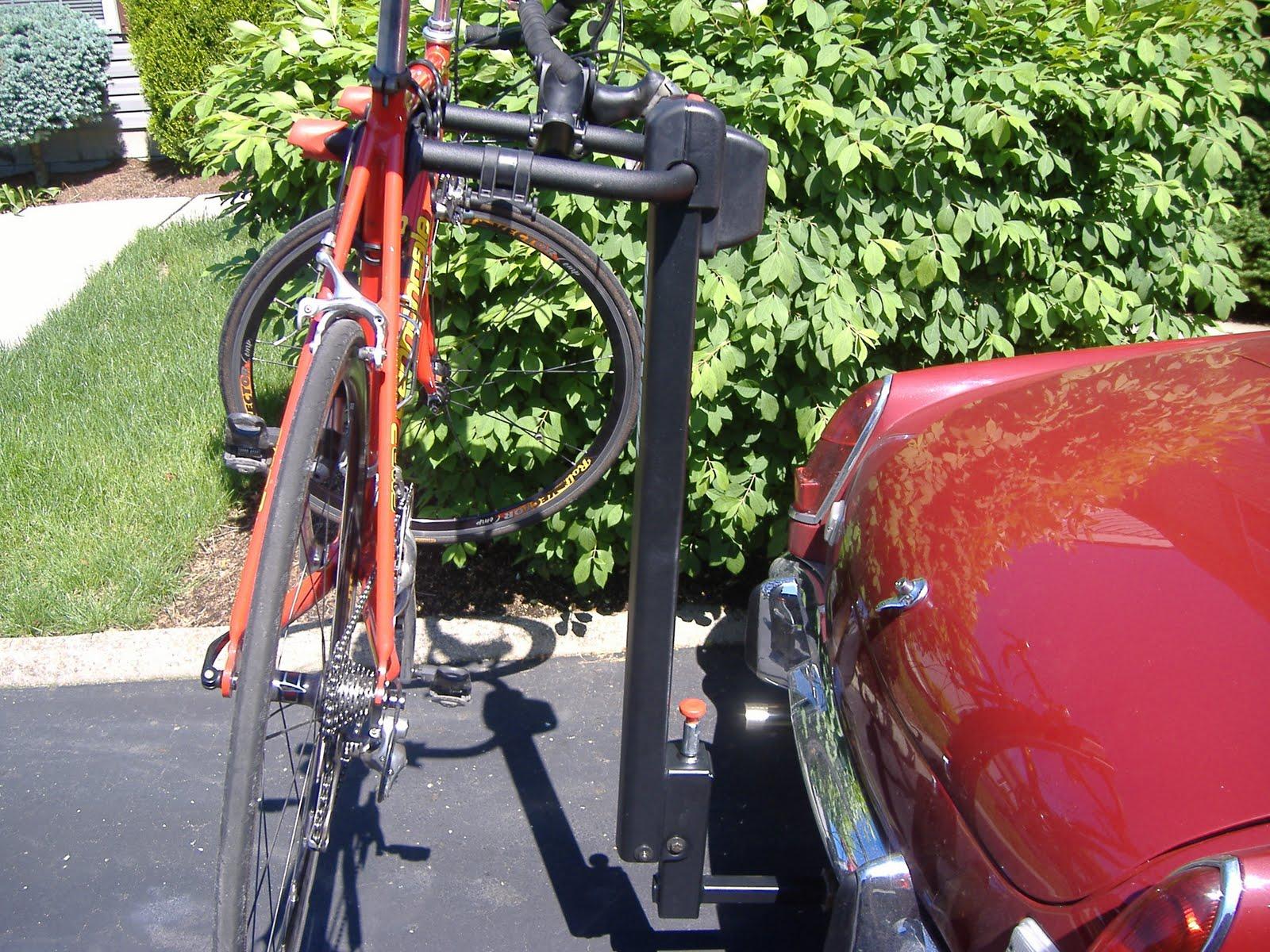 hitch mount car rack on sedan
