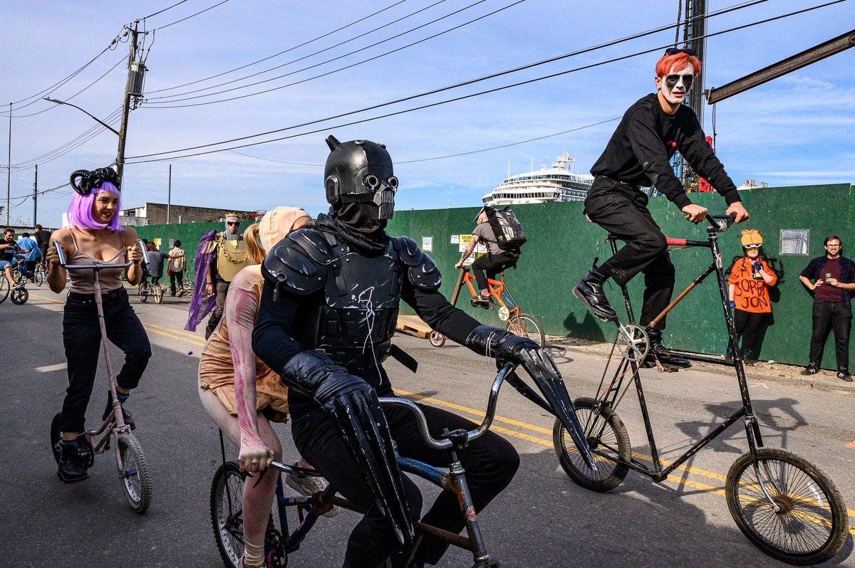 Bike Kill mutant bikers