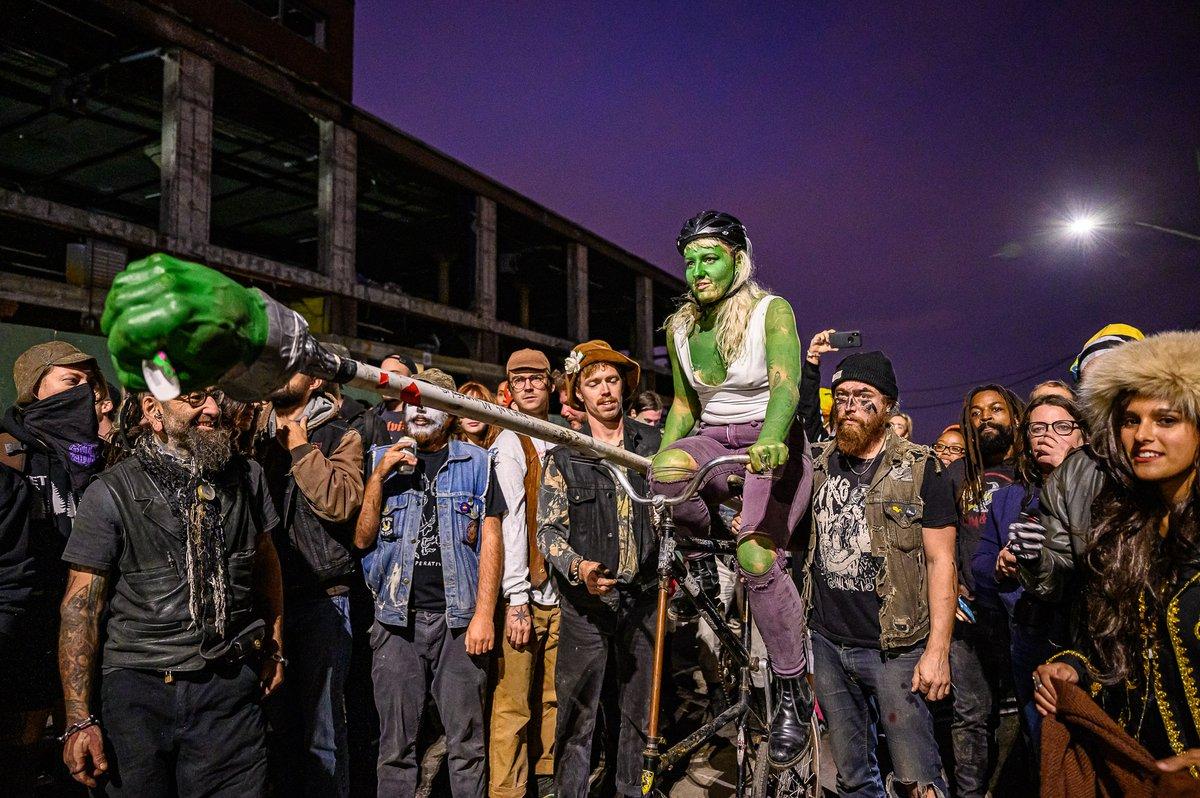 Jouster at Bike Kill 16
