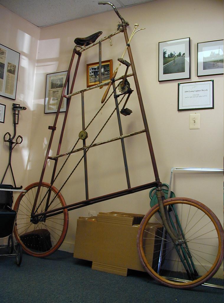 Lamplighter tall bike