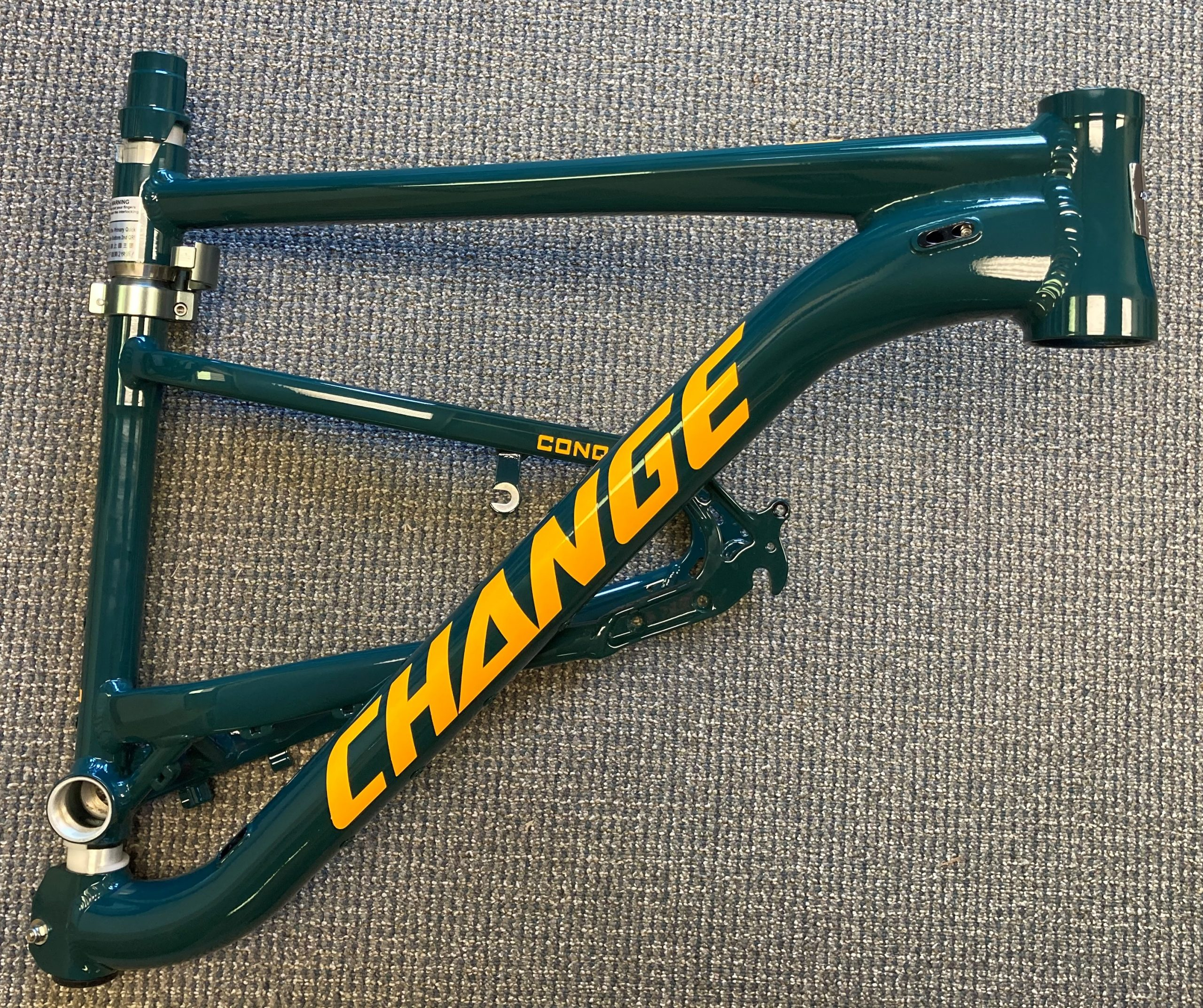 Change 833 frame folded