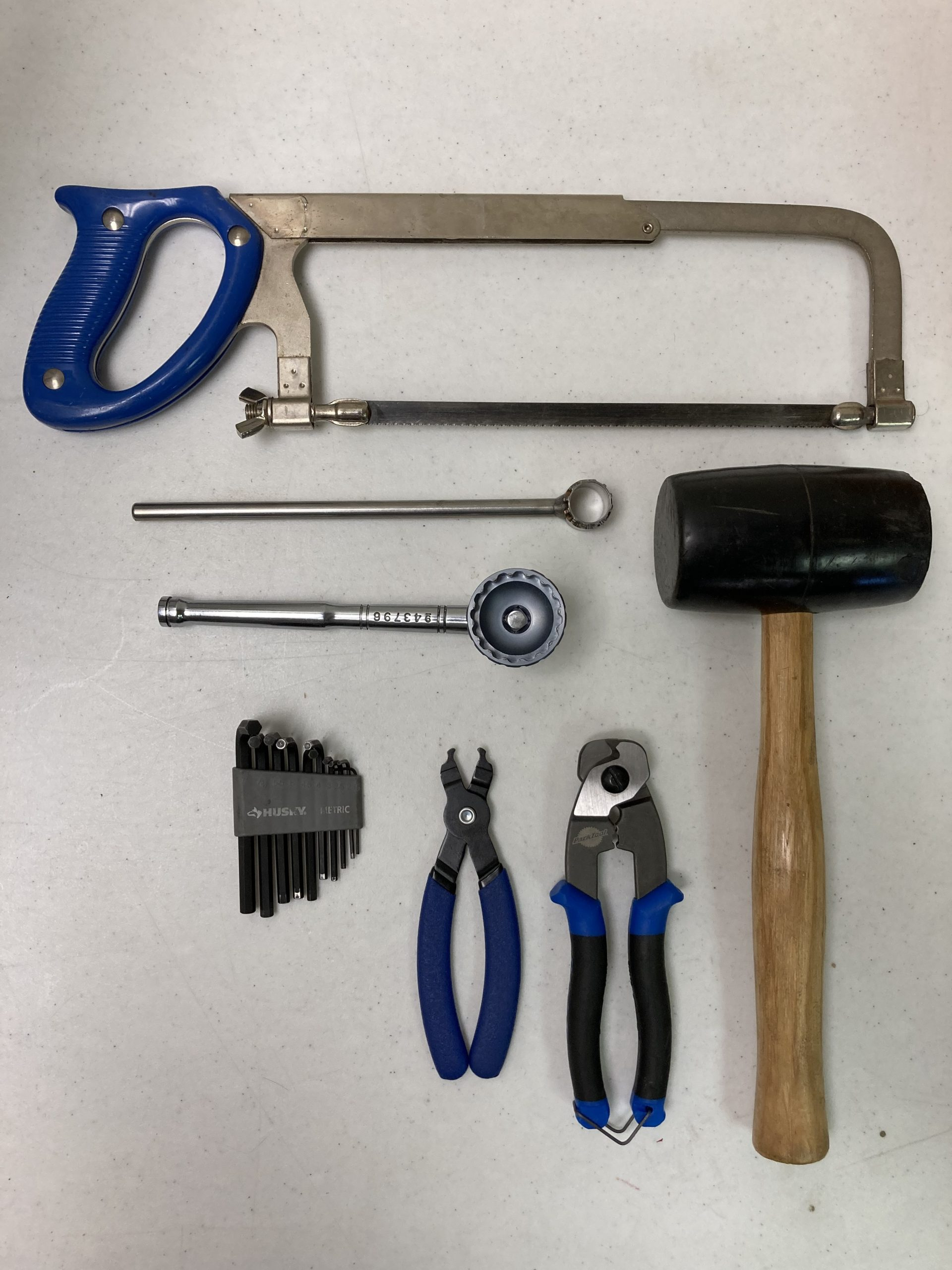 tools needed for bike building