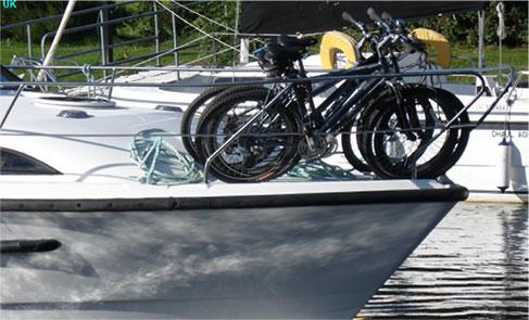 Bike in the elements