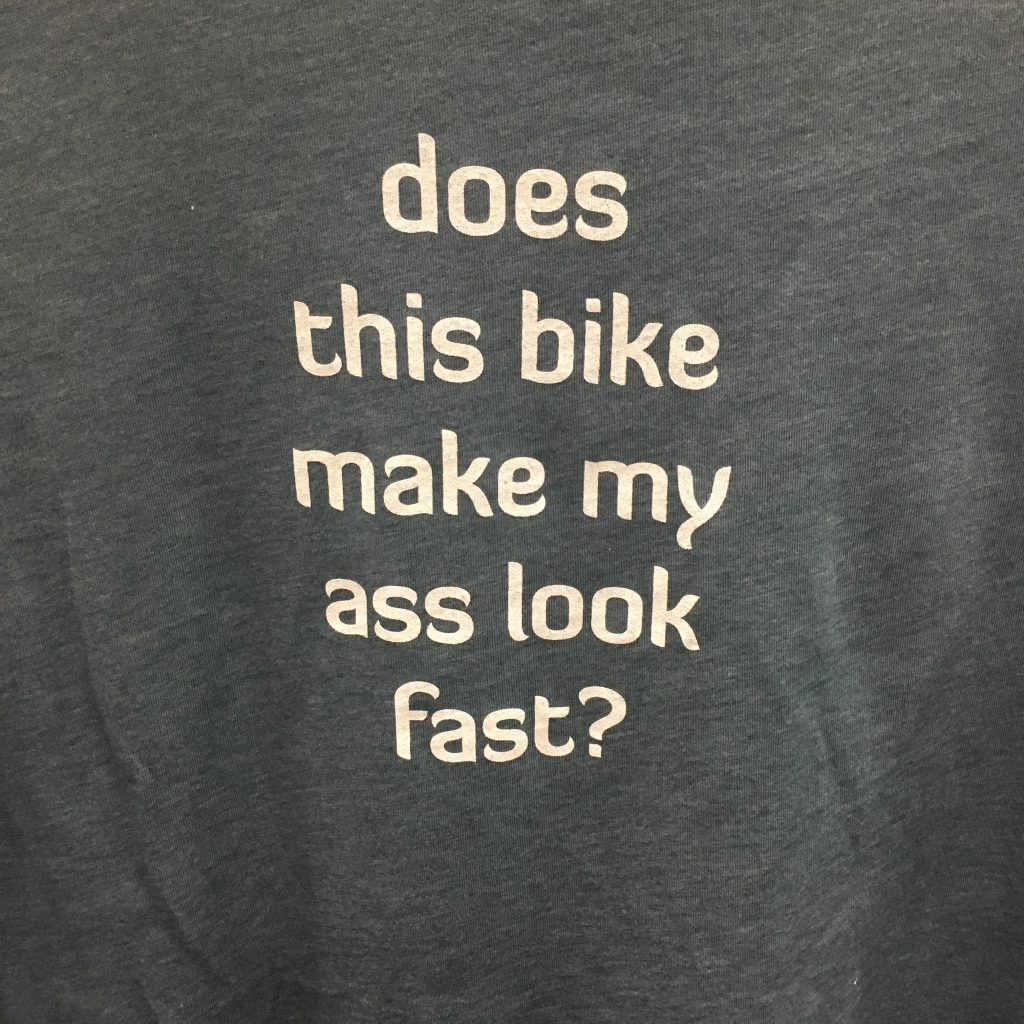 t-shirt message