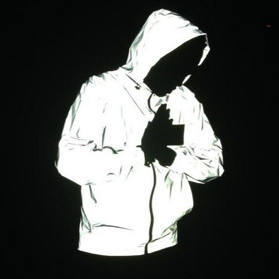 Reflective hoodie jacket