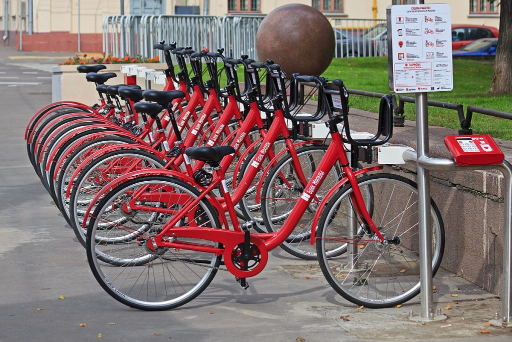 bike-sharing in Russia