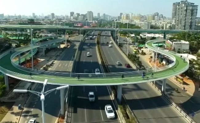 Bicycle Skyway
