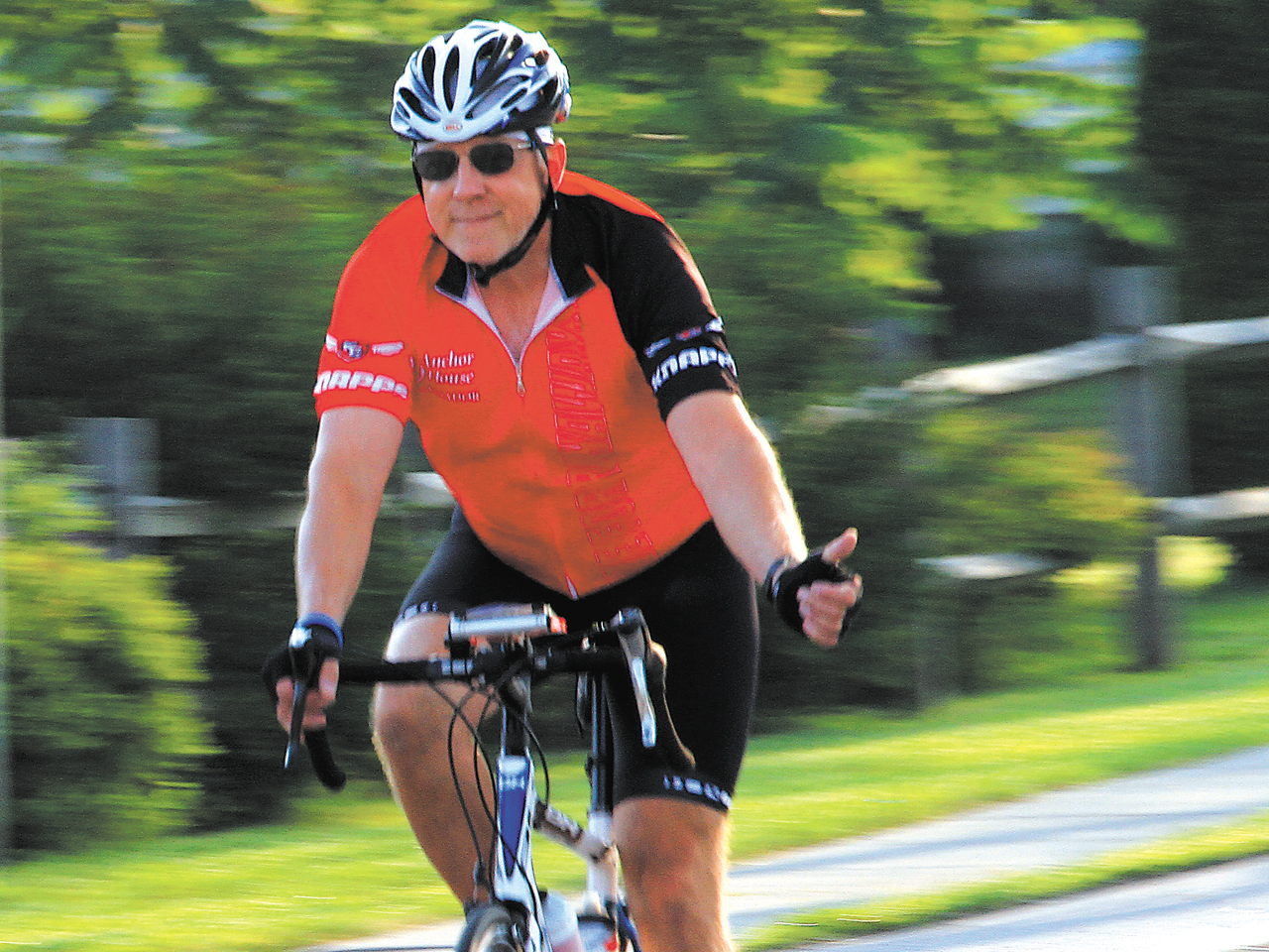 Train the easy way for long bike rides.